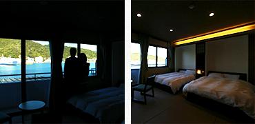 和室10畳和モダンベッドタイプ《海側》